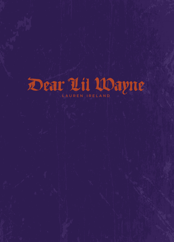 Book cover: Dear Lil Wayne